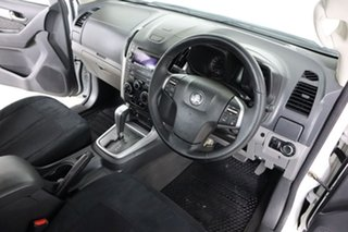 2012 Holden Colorado RG LX (4x2) White 6 Speed Automatic Cab Chassis