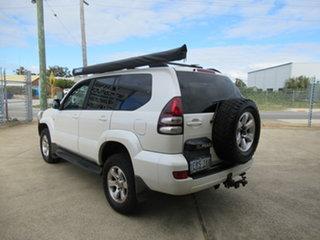 2003 Toyota Landcruiser Prado GRJ120R Grande White 4 Speed Automatic Sportswagon