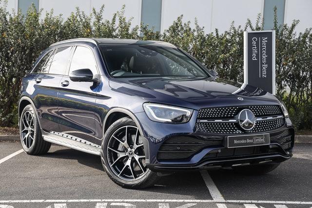 Certified Pre-Owned Mercedes-Benz GLC-Class X253 801MY GLC300 9G-Tronic 4MATIC Mulgrave, 2020 Mercedes-Benz GLC-Class X253 801MY GLC300 9G-Tronic 4MATIC Cavansite Blue 9 Speed
