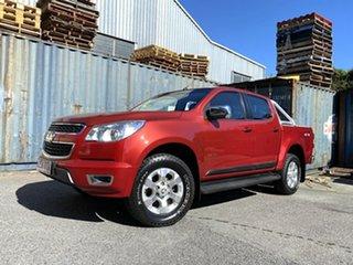 2013 Holden Colorado RG MY13 LTZ Crew Cab Red 5 Speed Manual Utility