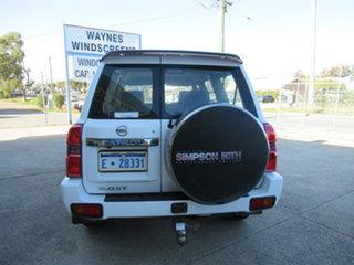 2012 Nissan Patrol GU 8 ST Simpson 50th Anniversary White 5 Speed Manual Sportswagon