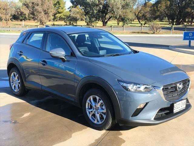 Demo Mazda CX-3 DK2W7A Maxx SKYACTIV-Drive FWD Sport Berri, 2021 Mazda CX-3 DK2W7A Maxx SKYACTIV-Drive FWD Sport Polymetal Grey 6 Speed Sports Automatic Wagon