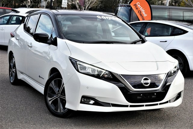 Used Nissan Leaf ZE1 Phillip, 2019 Nissan Leaf ZE1 White 1 Speed Reduction Gear Hatchback