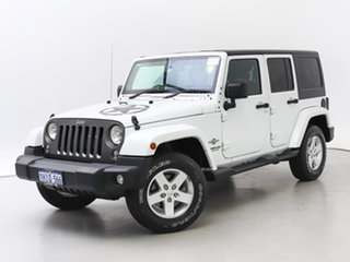 2015 Jeep Wrangler Unlimited JK MY15 Sport (4x4) White 5 Speed Automatic Softtop.