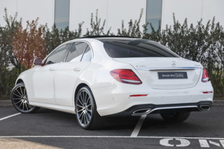 2019 Mercedes-Benz E-Class W213 800+050MY E450 9G-Tronic PLUS 4MATIC Polar White 9 Speed.