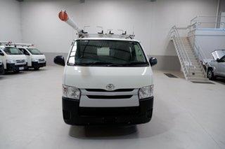 2017 Toyota HiAce KDH201R LWB White 4 Speed Automatic Van.