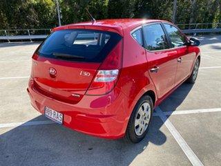 2009 Hyundai i30 FD MY09 SX Red 4 Speed Automatic Hatchback.