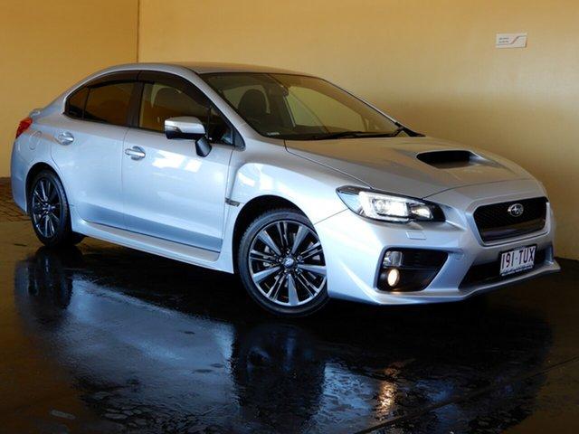 Used Subaru WRX MY15 (AWD) Toowoomba, 2014 Subaru WRX MY15 (AWD) Silver 8 Speed CVT Auto Sequential Sedan