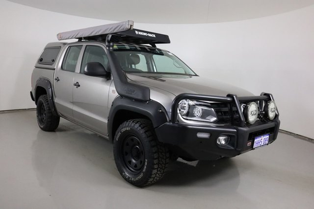 Used Volkswagen Amarok 2H MY17 TDI420 Core Edition (4x4) Bentley, 2017 Volkswagen Amarok 2H MY17 TDI420 Core Edition (4x4) Beige 8 Speed Automatic Dual Cab Utility