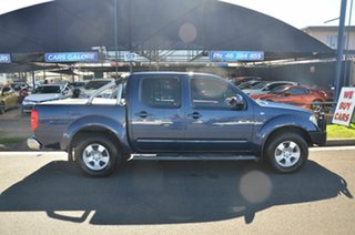 2010 Nissan Navara D40 ST (4x4) Blue 5 Speed Automatic Dual Cab Pick-up.