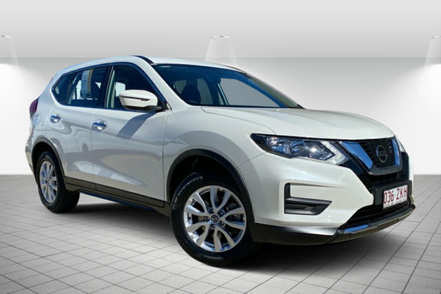 Used Nissan X-Trail T32 Series II ST X-tronic 2WD Hervey Bay, 2019 Nissan X-Trail T32 Series II ST X-tronic 2WD White 7 Speed Constant Variable Wagon