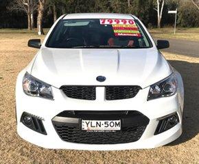 2014 Holden Special Vehicles ClubSport Gen-F MY14 R8 White 6 Speed Manual Sedan.