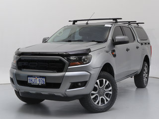2015 Ford Ranger PX MkII XLS 3.2 (4x4) Grey 6 Speed Manual Double Cab Pick Up.