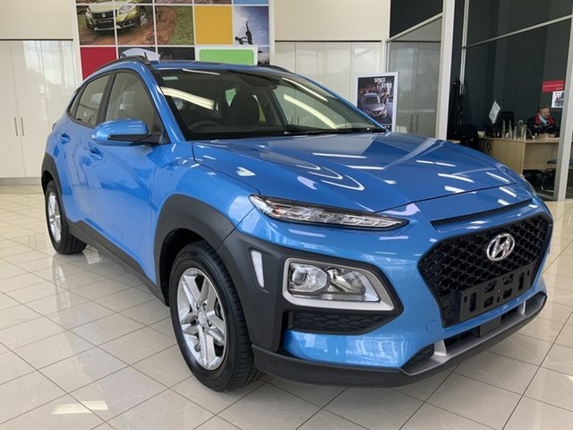 Used Hyundai Kona OS MY18 Active 2WD Cardiff, 2017 Hyundai Kona OS MY18 Active 2WD Blue 6 Speed Sports Automatic Wagon
