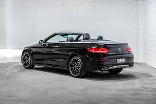 2016 Mercedes-Benz C-Class A205 C43 AMG 9G-Tronic 4MATIC Black 9 Speed Sports Automatic Cabriolet.