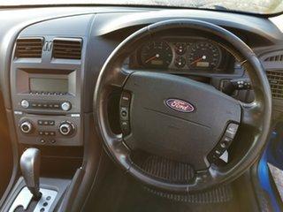 2005 Ford Falcon BA Mk II XT Blue 4 Speed Sports Automatic Sedan