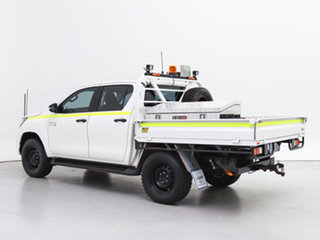 2019 Toyota Hilux GUN126R MY19 SR (4x4) White 6 Speed Automatic Double Cab Chassis