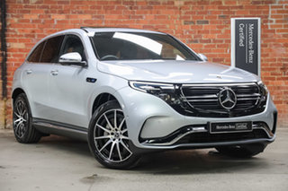 2020 Mercedes-Benz EQC N293 EQC400 4MATIC High-Tech Silver Metallic 1 Speed Reduction Gear Wagon.