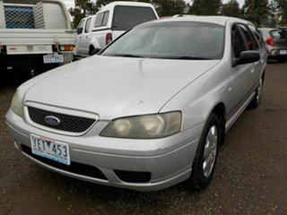 2005 Ford Falcon BF XT Grey 4 Speed Auto Seq Sportshift Wagon.