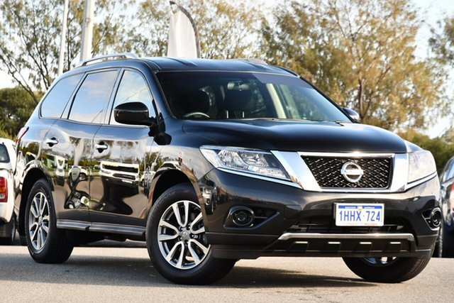 Used Nissan Pathfinder R52 MY16 ST X-tronic 2WD Clarkson, 2016 Nissan Pathfinder R52 MY16 ST X-tronic 2WD Black 1 Speed Constant Variable Wagon