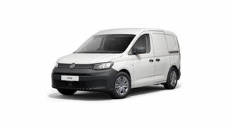 2021 Volkswagen Caddy 5 SWB Candy White 7 Speed Semi Auto Van.