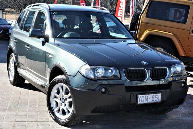 Used BMW X3 E83 MY05 Steptronic Phillip, 2004 BMW X3 E83 MY05 Steptronic Green 5 Speed Sports Automatic Wagon