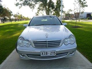 2006 Mercedes-Benz C-Class W203 C180 Kompressor Classic Silver Automatic Sedan.
