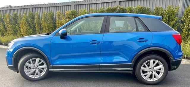 Used Audi Q2 GA MY19 35 TFSI S Tronic design Essendon Fields, 2019 Audi Q2 GA MY19 35 TFSI S Tronic design Blue 7 Speed Sports Automatic Dual Clutch Wagon