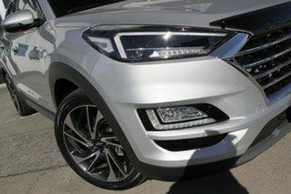 2020 Hyundai Tucson TL3 MY20 Highlander AWD Platinum Silver 8 Speed Sports Automatic Wagon.