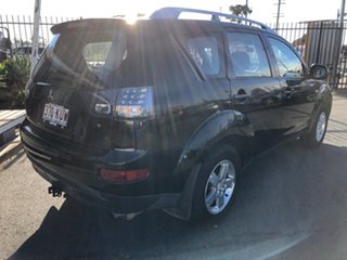 2007 Mitsubishi Outlander ZG LS Black 6 Speed CVT Auto Sequential Wagon.