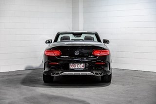 2016 Mercedes-Benz C-Class A205 C43 AMG 9G-Tronic 4MATIC Black 9 Speed Sports Automatic Cabriolet