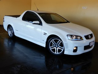 2012 Holden Commodore VE II MY12 SV6 Thunder White 6 Speed Automatic Utility