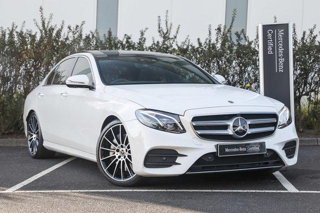 Certified Pre-Owned Mercedes-Benz E-Class W213 800+050MY E450 9G-Tronic PLUS 4MATIC Mulgrave, 2019 Mercedes-Benz E-Class W213 800+050MY E450 9G-Tronic PLUS 4MATIC Polar White 9 Speed