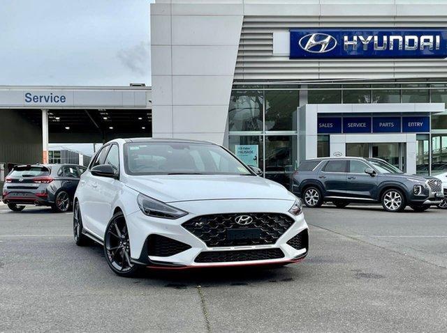 New Hyundai i30 Pde.v4 MY22 N D-CT Premium South Melbourne, 2021 Hyundai i30 Pde.v4 MY22 N D-CT Premium Polar White 8 Speed Sports Automatic Dual Clutch
