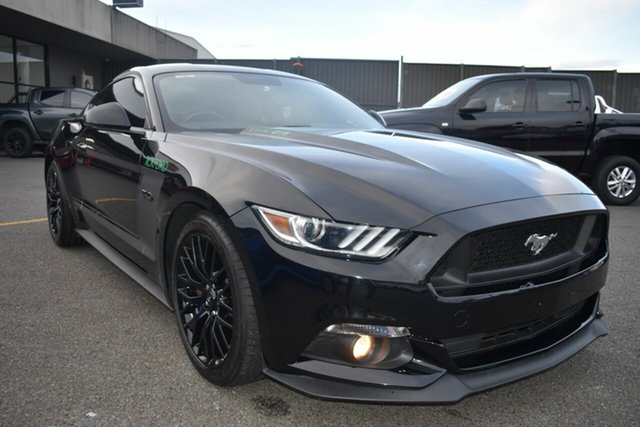 Used Ford Mustang FM 2017MY GT Fastback SelectShift Wantirna South, 2017 Ford Mustang FM 2017MY GT Fastback SelectShift Black 6 Speed Sports Automatic Fastback