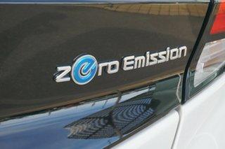 2019 Nissan Leaf ZE1 White 1 Speed Reduction Gear Hatchback