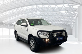 2017 Ford Everest UA Trend Arctic White 6 Speed Sports Automatic SUV.