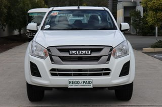 2018 Isuzu D-MAX MY18 SX Crew Cab White 6 speed Automatic Cab Chassis.