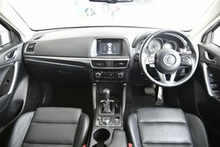 2016 Mazda CX-5 KE1022 Grand Touring SKYACTIV-Drive i-ACTIV AWD White 6 Speed Sports Automatic Wagon.