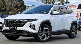 2021 Hyundai Tucson NX4.V1 MY22 Highlander D-CT AWD White Cream 7 Speed Sports Automatic Dual Clutch.