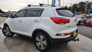 2014 Kia Sportage SL MY14 Platinum AWD Casa White 6 Speed Sports Automatic Wagon.