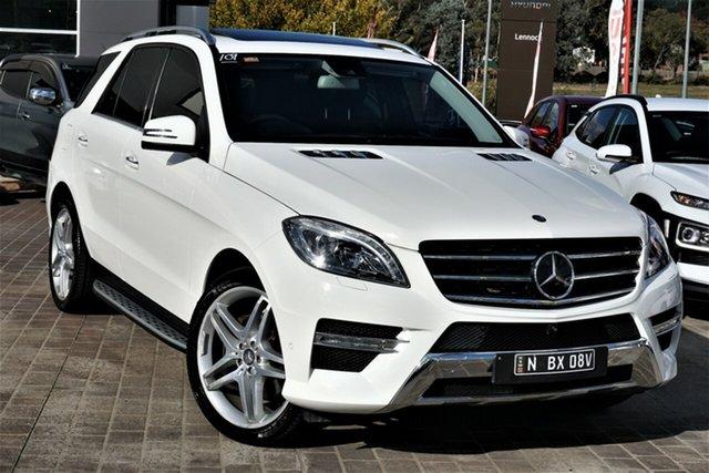 Used Mercedes-Benz M-Class W166 ML350 BlueTEC 7G-Tronic + Phillip, 2014 Mercedes-Benz M-Class W166 ML350 BlueTEC 7G-Tronic + White 7 Speed Sports Automatic Wagon