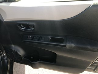 2012 Toyota Yaris NCP131R YRS Black 4 Speed Automatic Hatchback
