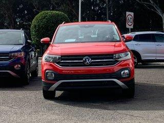 2021 Volkswagen T-Cross C1 MY21 85TSI DSG FWD Life Red 7 Speed Sports Automatic Dual Clutch Wagon.
