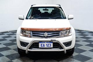 2013 Suzuki Grand Vitara JT MY13 Urban Navigator White 4 Speed Automatic Wagon.