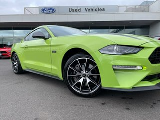 2020 Ford Mustang FN 2020MY High Performance RWD Green 10 Speed Sports Automatic Fastback.