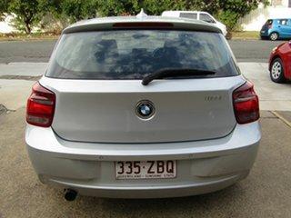 2013 BMW 1 Series F20 MY0713 118i Steptronic Silver 8 Speed Sports Automatic Hatchback.