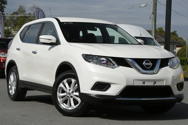 Used Nissan X-Trail T32 ST X-tronic 2WD Rocklea, 2017 Nissan X-Trail T32 ST X-tronic 2WD Snow White Pearl 7 Speed Constant Variable Wagon