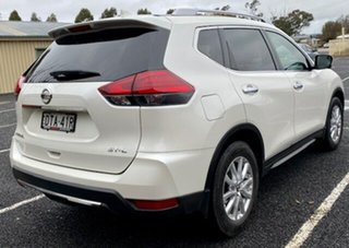 2018 Nissan X-Trail T32 Series II ST-L X-tronic 2WD Ivory Pearl Continuous Variable Transmission.