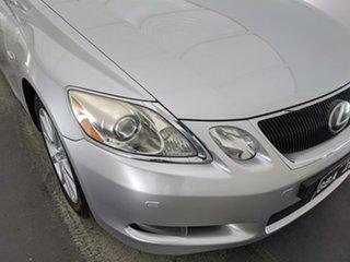 2005 Lexus GS GRS190R GS300 Sports Luxury Silver 6 Speed Sports Automatic Sedan.